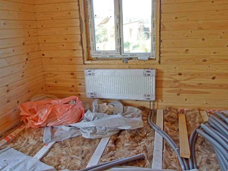 Монтаж отопления своими руками в деревянном доме 16