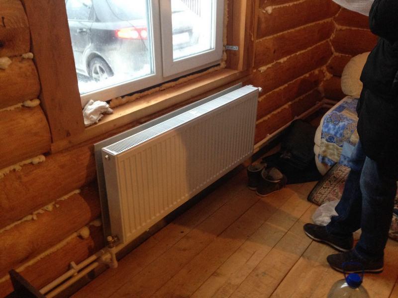 Сделать своими руками отопление на даче